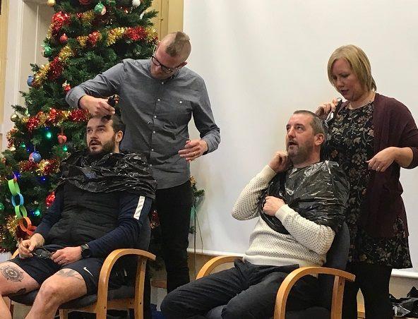 baldies for boobies - Christmas Boobies